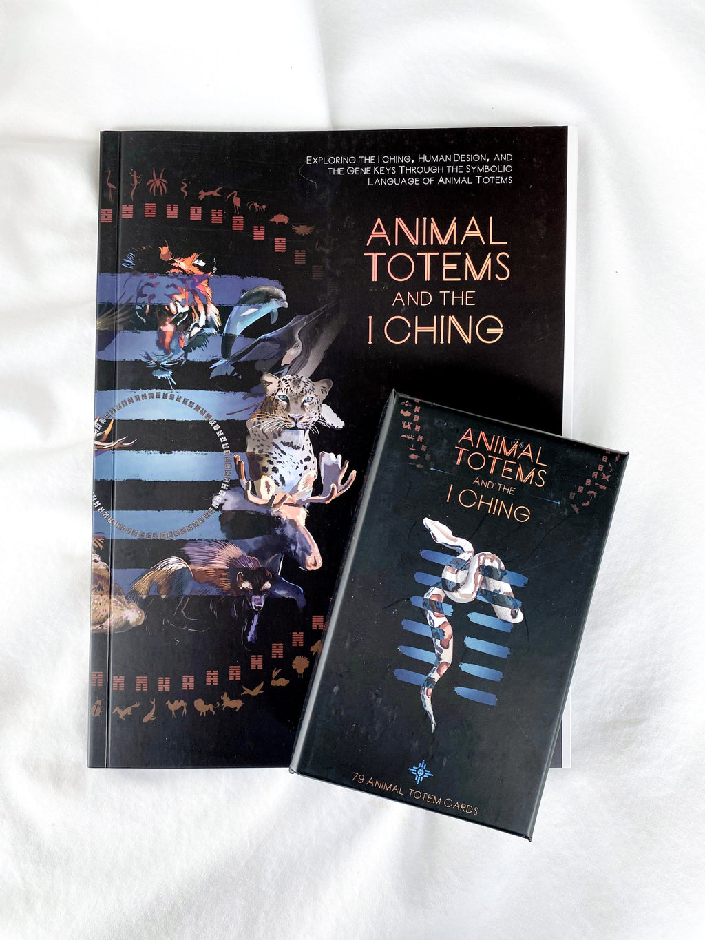 Animal Totems and The I Ching Deck + Book Bundle - Unearthed Crystals