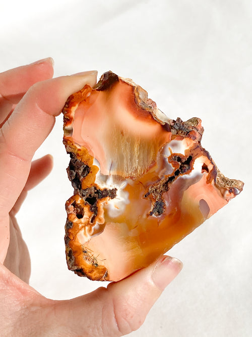 Honey Calcite Rough | Medium - Unearthed Crystals