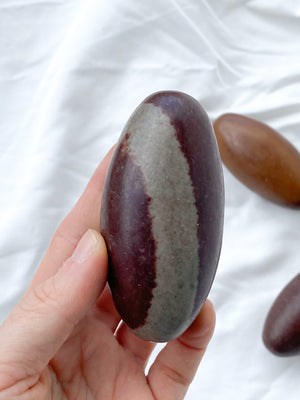 Narmada Stone Shiva Lingam Carving | XXL - Unearthed Crystals
