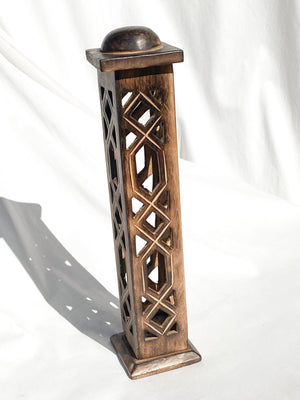 Incense Tower | Trellis Tower - Unearthed Crystals