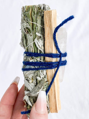 The Ultimate Cleanse | BLACK SAGE - Unearthed Crystals