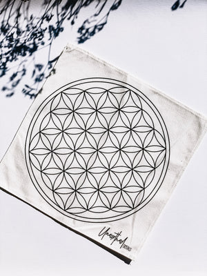 Flower of Life | Gridding Cloth - Unearthed Crystals