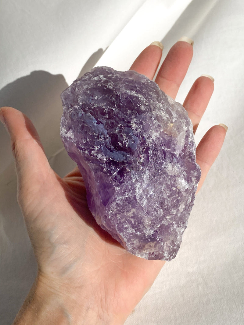 Amethyst Rough - Unearthed Crystals
