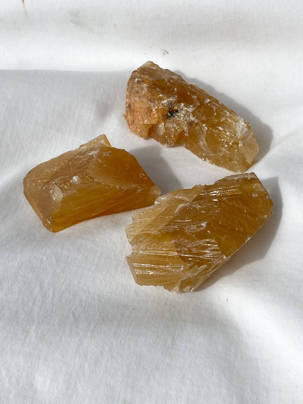 Honey Calcite Rough | Extra Large - Unearthed Crystals