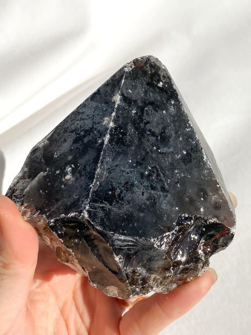 Grey Aveneturine Merkaba | Large - Unearthed Crystals