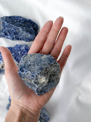 Sodalite Rough | XXL - Unearthed Crystals