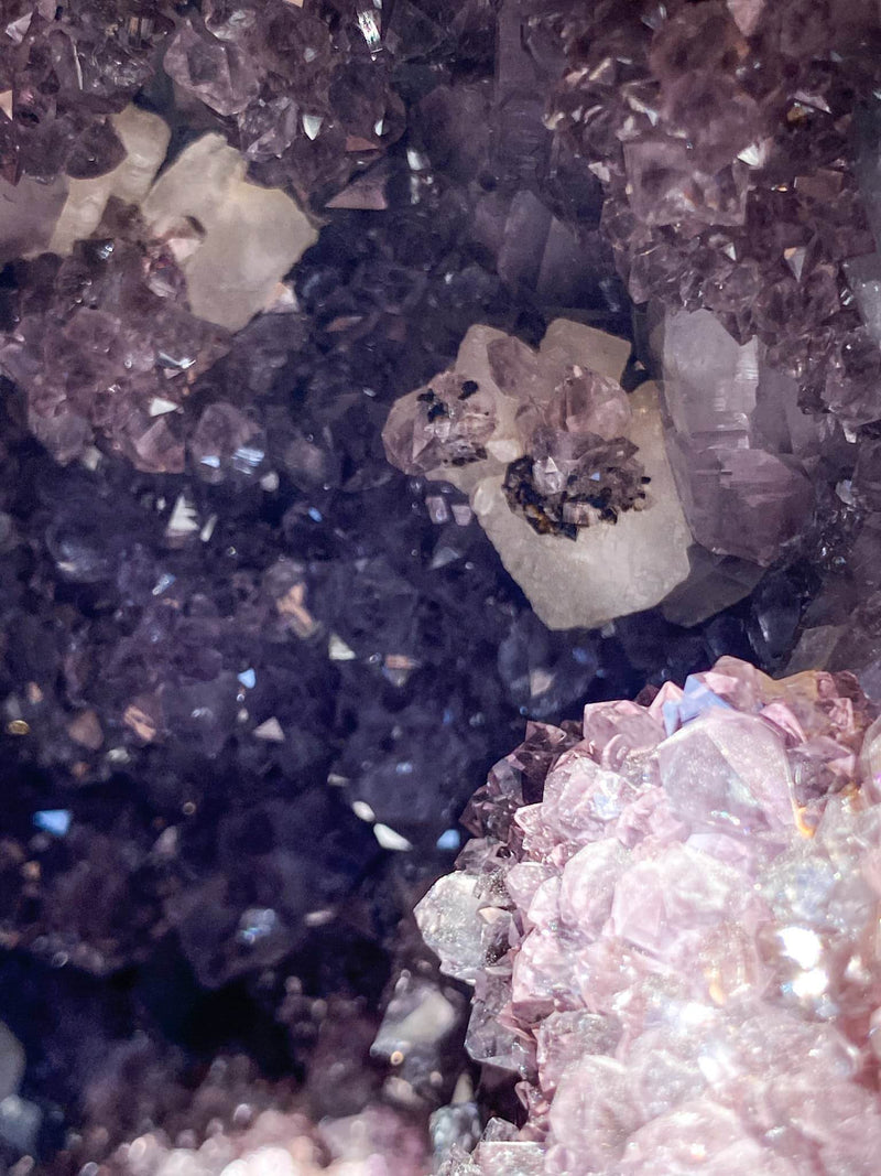 Amethyst Cave - Unearthed Crystals