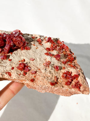 Vanadinite Specimen - Unearthed Crystals