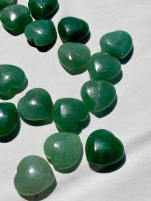 Green Aventurine Heart | Mini - Unearthed Crystals
