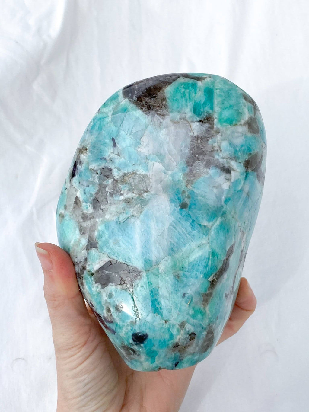 Amazonite Standing Freeform - Unearthed Crystals
