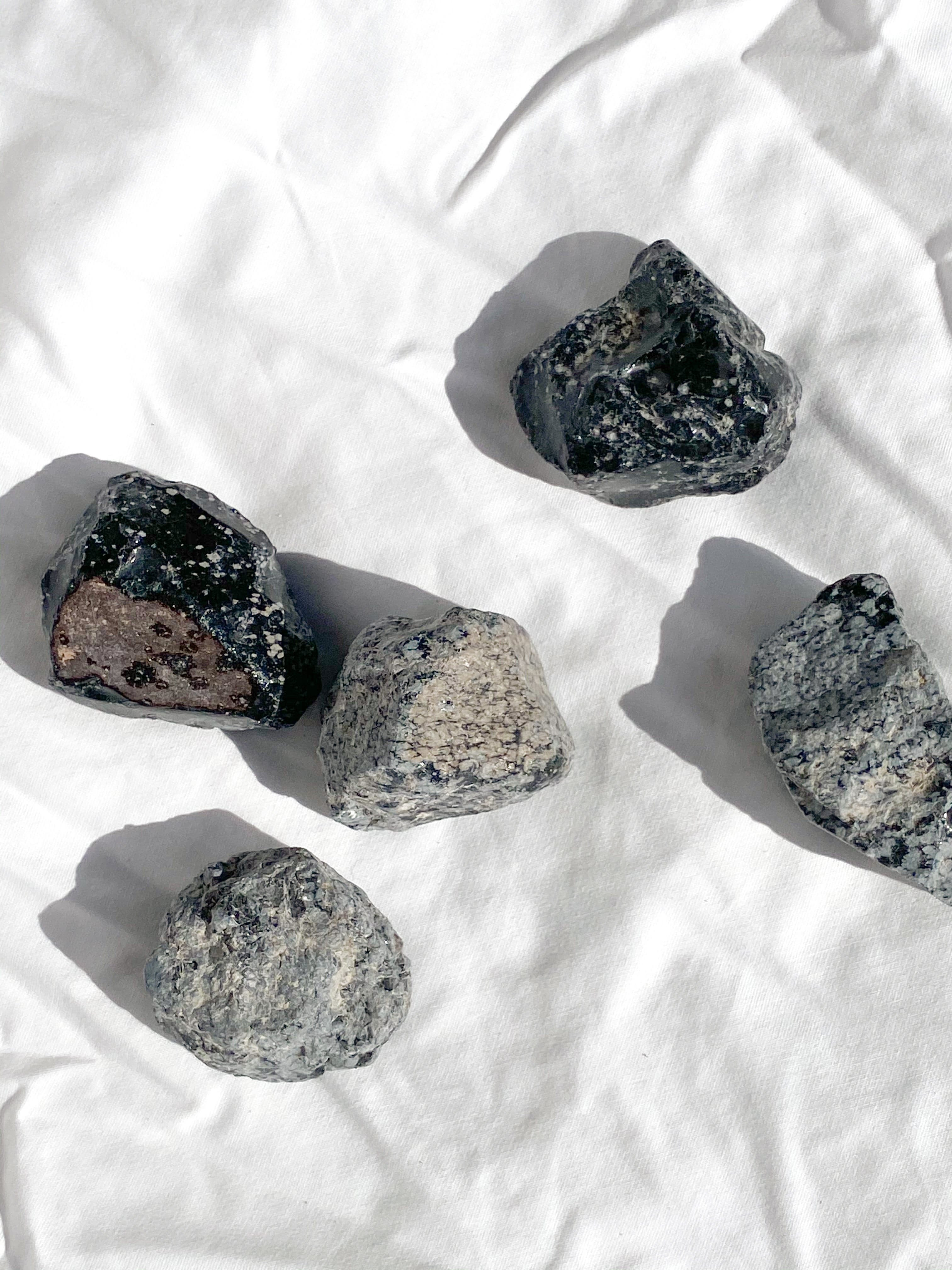 Shungite Coaster Set | Set of 4 - Unearthed Crystals