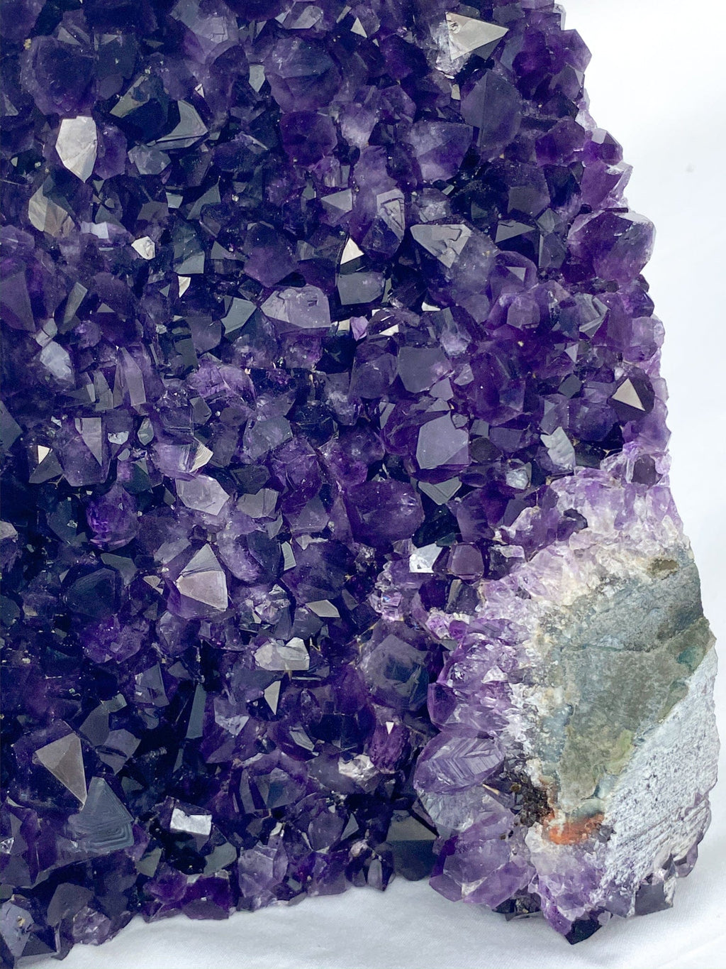 Uruguayan Amethyst | Standing Cluster - Unearthed Crystals