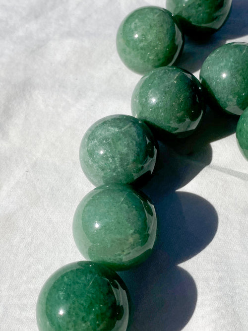 Green Aventurine Sphere | Small - Unearthed Crystals