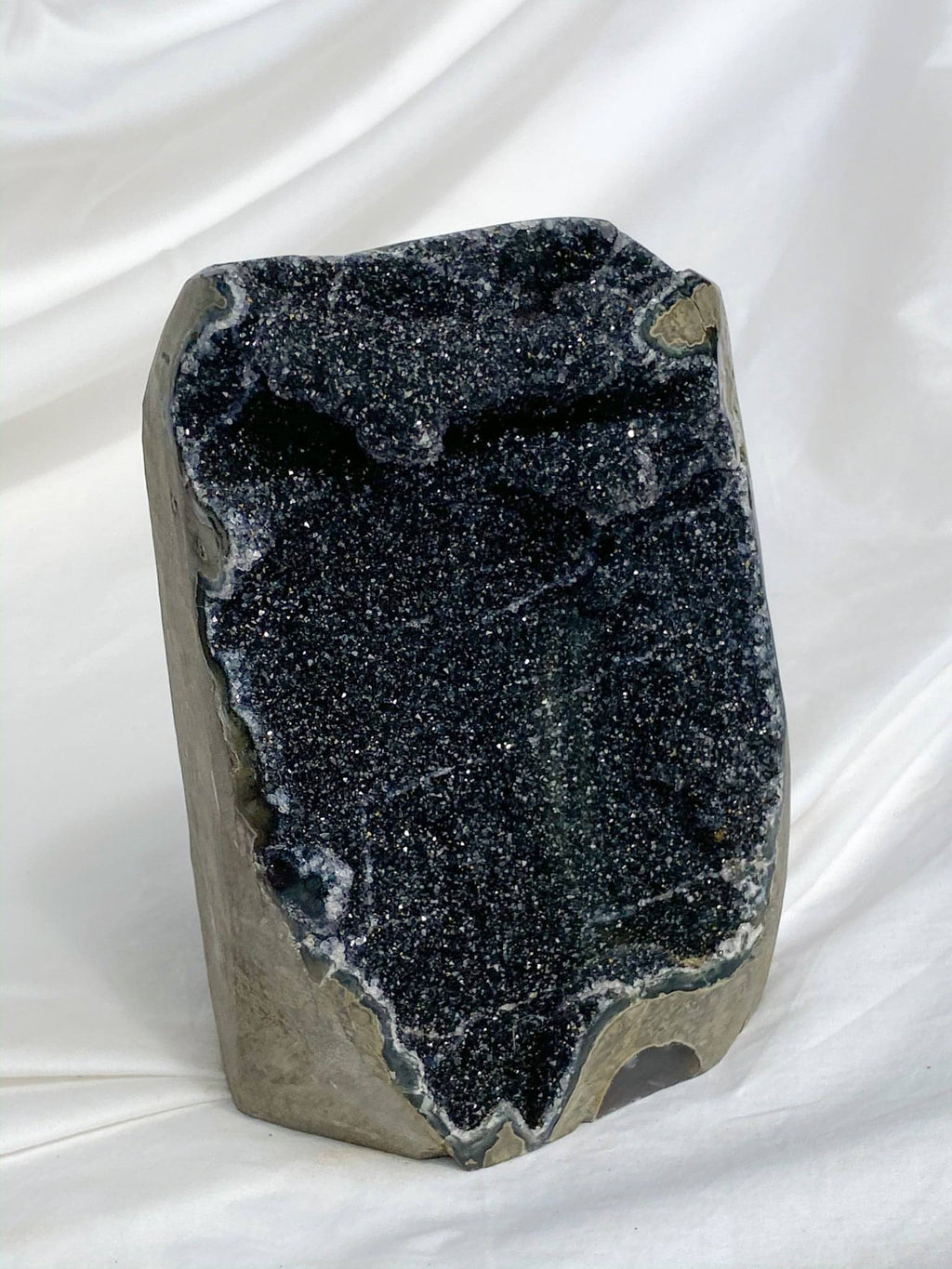 Black Amethyst | Standing Cluster - Unearthed Crystals