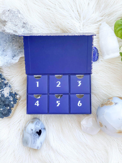 Crystal Advent Calendar | Mini 6 Day - Unearthed Crystals