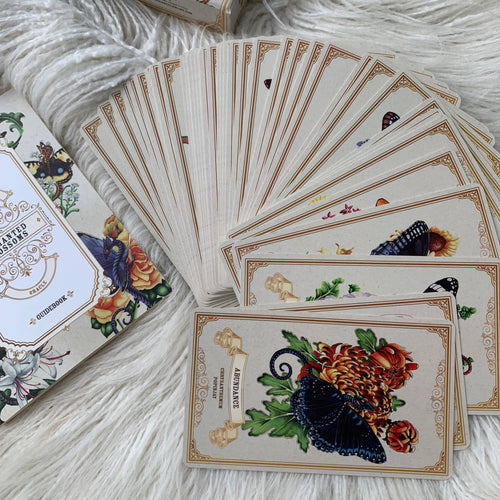 Enchanted Blossoms Empowerment Oracle Deck - Unearthed Crystals