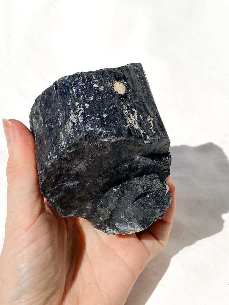 Black Tourmaline Rough - Unearthed Crystals