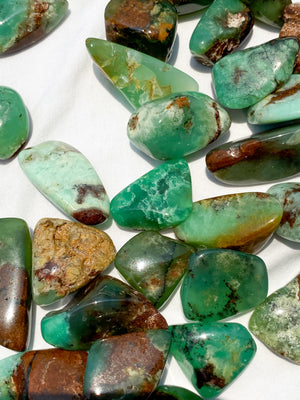 Chrysoprase Tumble | Small - Unearthed Crystals