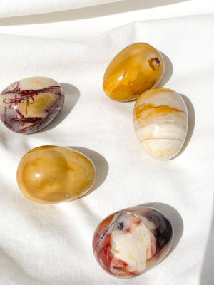 Mookaite Egg - Unearthed Crystals