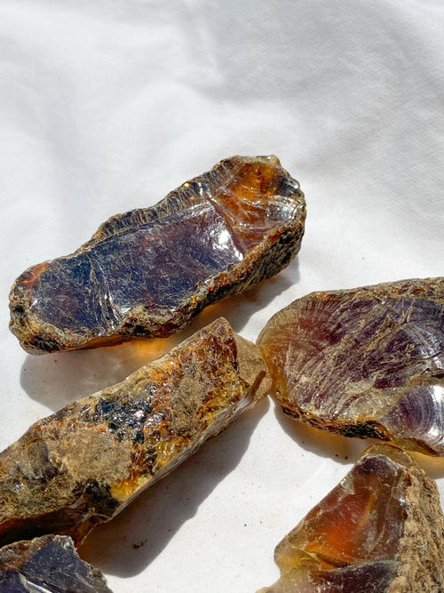 Amber Rough | Medium - Unearthed Crystals