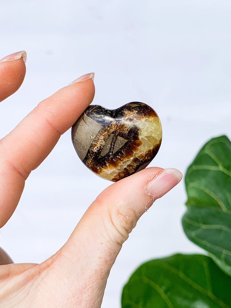 Septarian Hearts | Medium - Unearthed Crystals