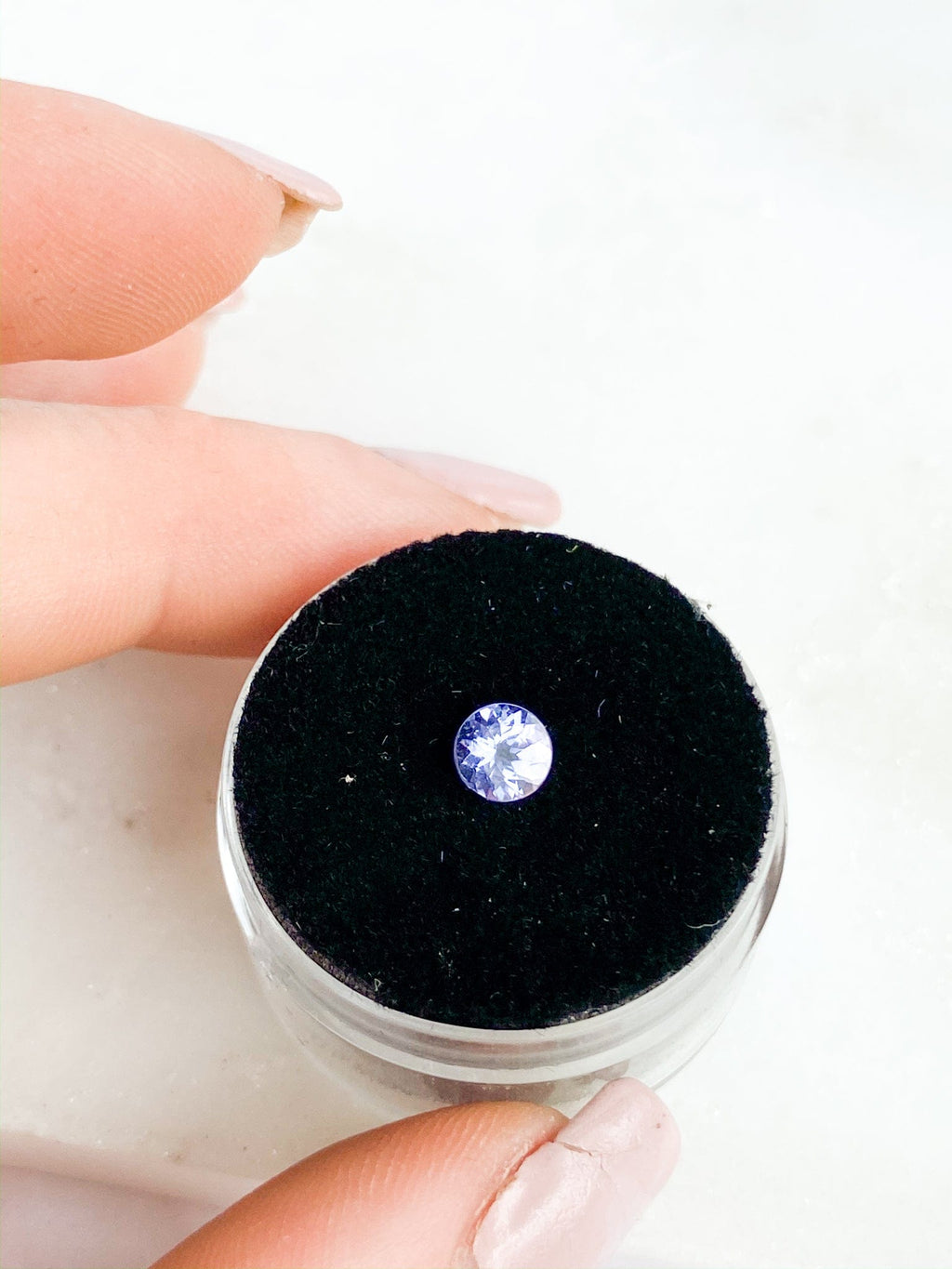 Tanzanite | Round Cut | 0.525ct - Unearthed Crystals