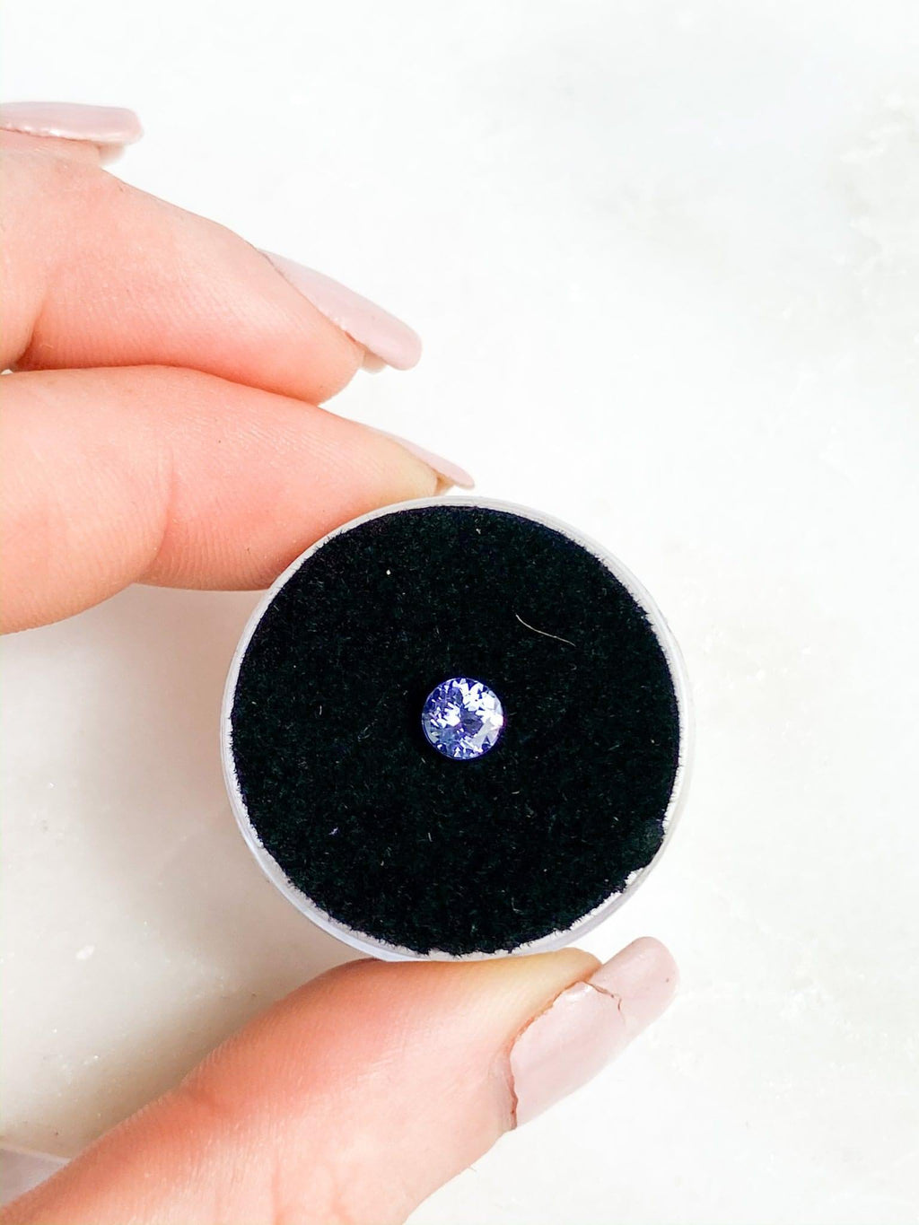Tanzanite | Round Cut | 0.495ct - Unearthed Crystals