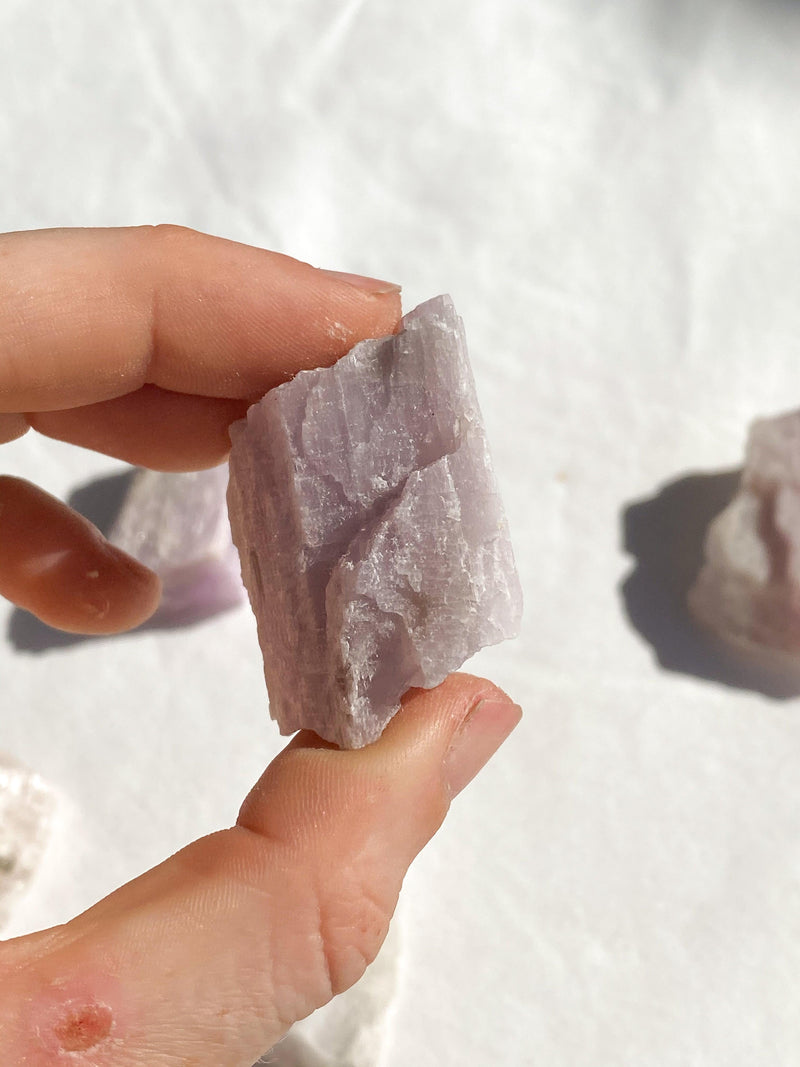 Kunzite Rough | Small - Unearthed Crystals