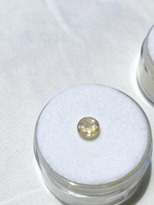 Golden Rutile Quartz Faceted Gemstone - Unearthed Crystals