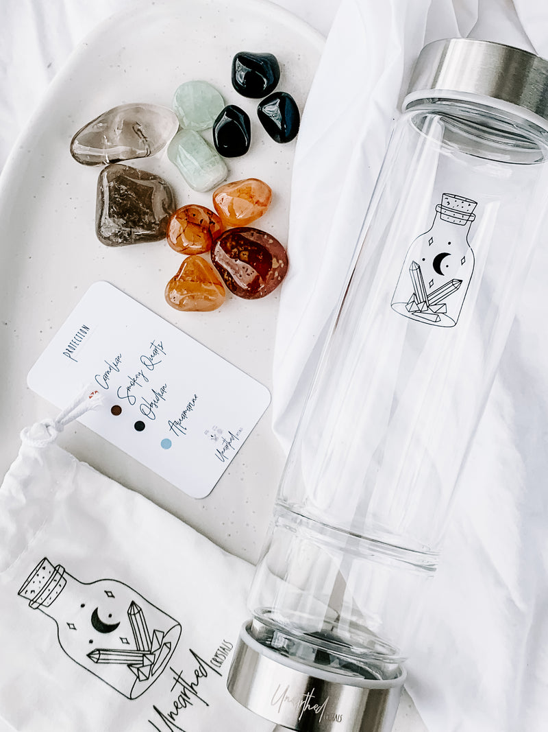 DIY Elixir Kit | Protection - Unearthed Crystals