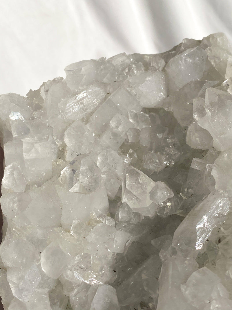 Indian Zeolite Cluster - Unearthed Crystals
