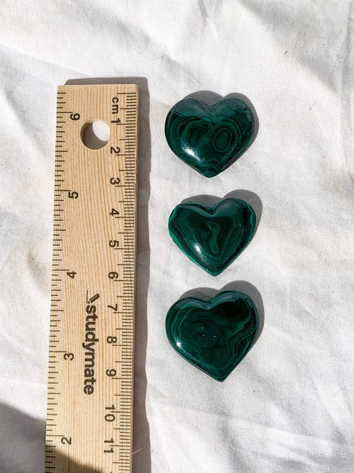 Malachite Heart | Large - Unearthed Crystals