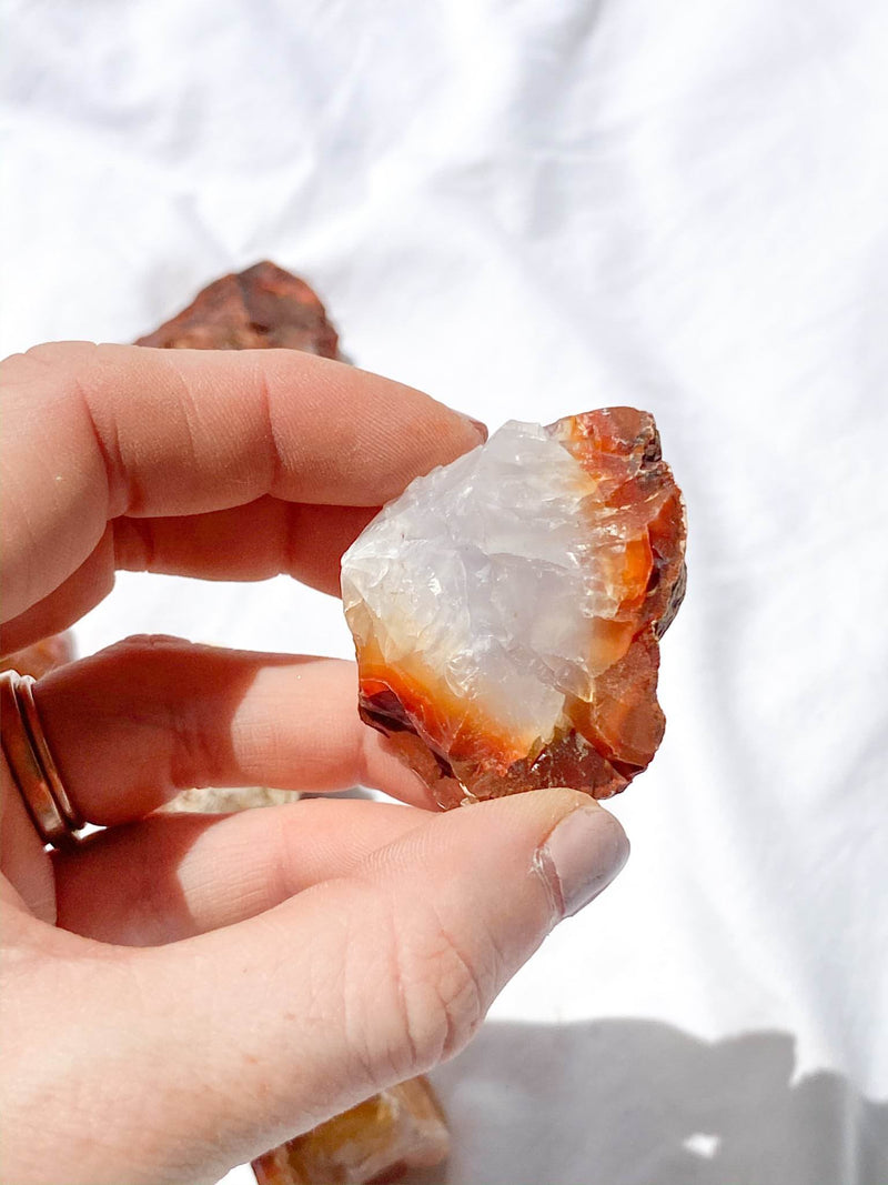 Carnelian Rough | Small - Unearthed Crystals