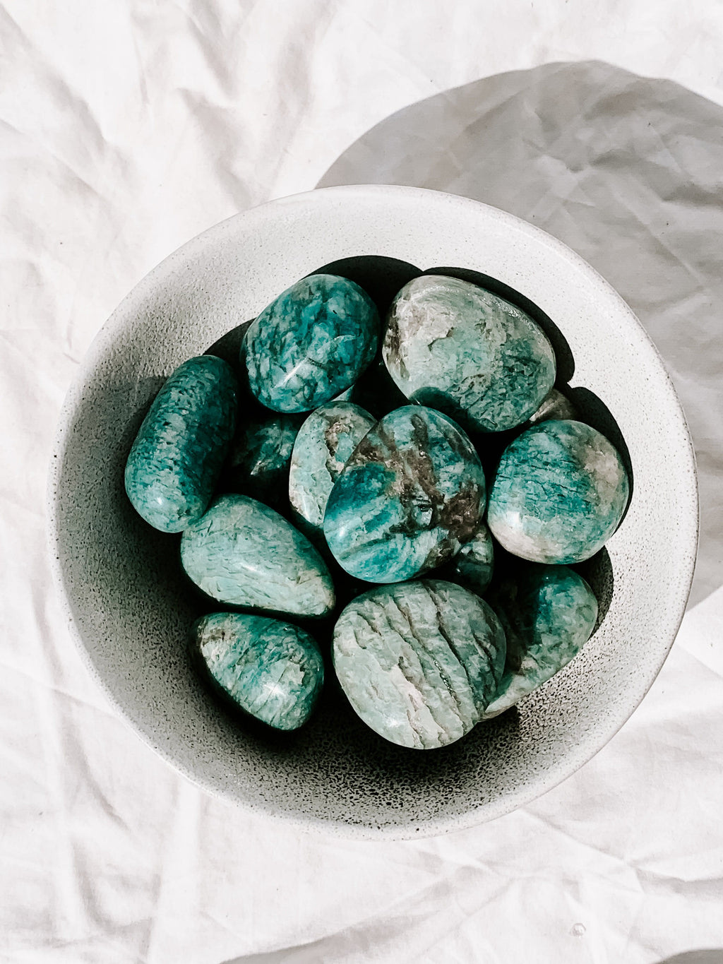 Amazonite Palm Stone | Small - Unearthed Crystals