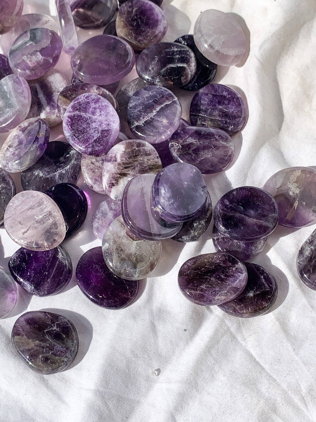 Amethyst Coin - Unearthed Crystals