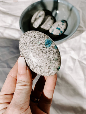 K2 Jasper Palm Stones | Large - Unearthed Crystals