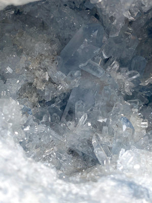 Celestite Geode | Exceptional Quality - Unearthed Crystals