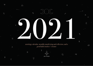 2021 Calendar | A3 - Unearthed Crystals