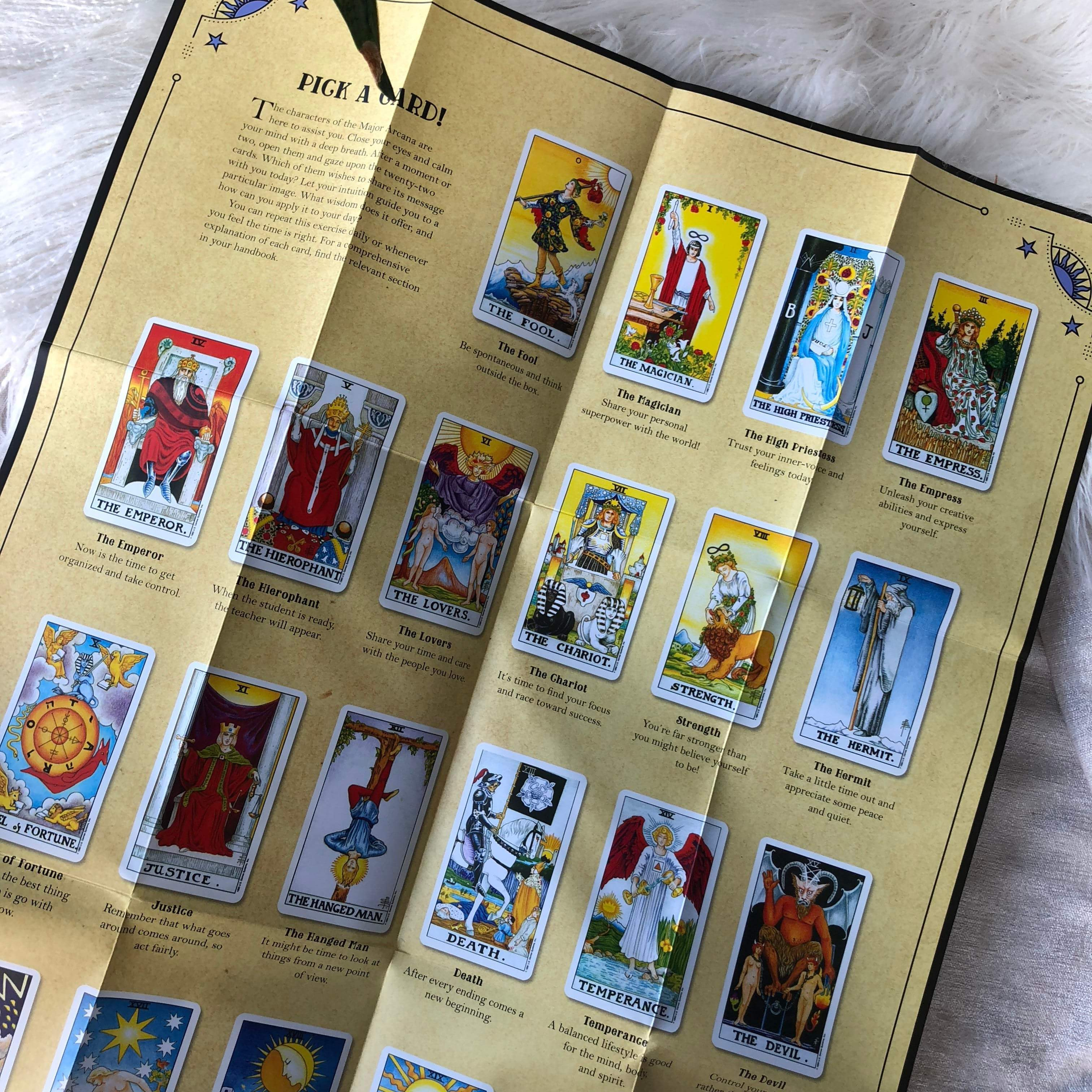 In Focus | Tarot - Unearthed Crystals