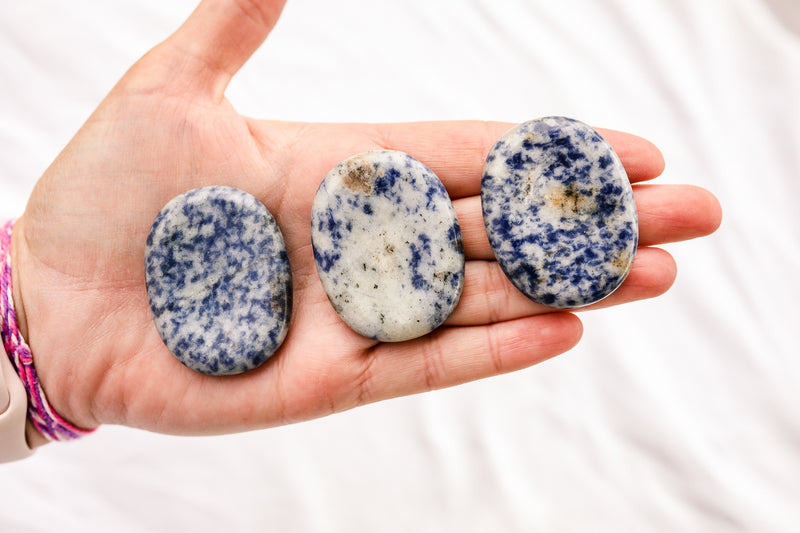 Sodalite Worry Stone - Unearthed Crystals