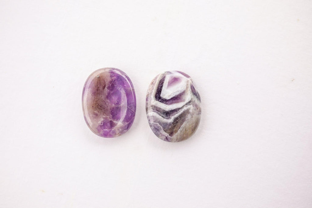 Amethyst Worry Stone - Unearthed Crystals
