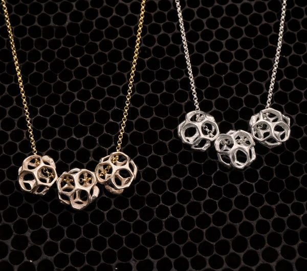 Triple Honeybud Necklace