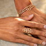 Comb Bangles (set of 2)