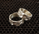 Best selling sterling hexagon ring