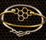 Cast Comb Bangle