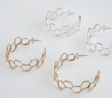 Cast Comb Hoops