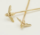 Honeybee Hair Pins (set of 2)