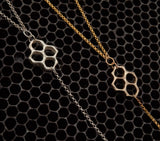 Honeycomb Y-Necklace