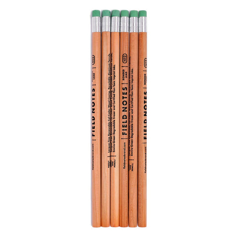No.2 Woodgrain Pencil 6-Pack