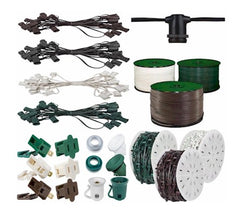 stringers, spools, parts